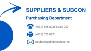 MCPI Purchasing contact