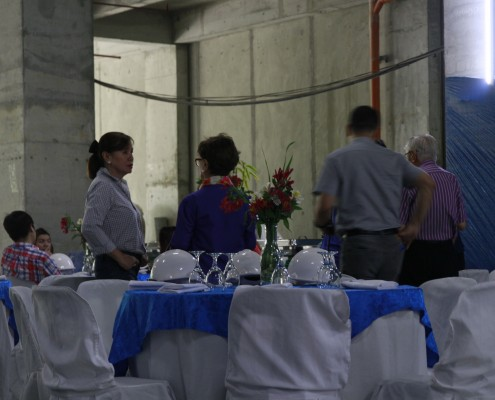 Monocrete Topping off Ceremony Inoza