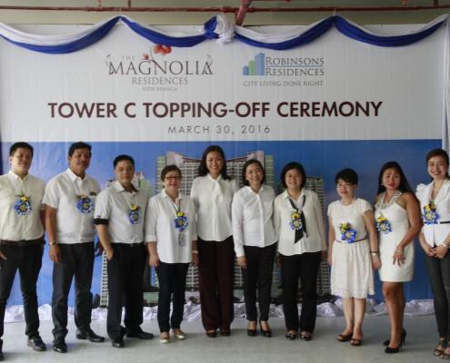 Monocrete Topping off Ceremony Magnolia Residences