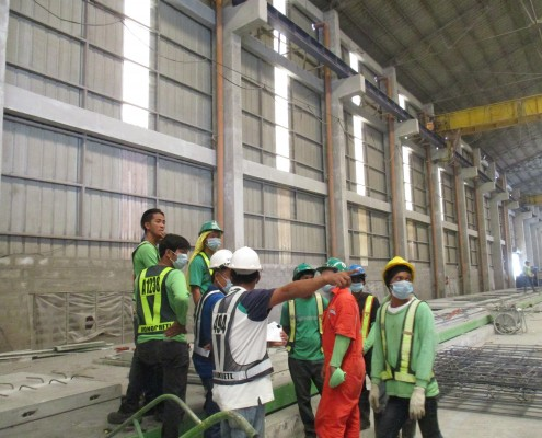 Monocrete Precast Warehouse